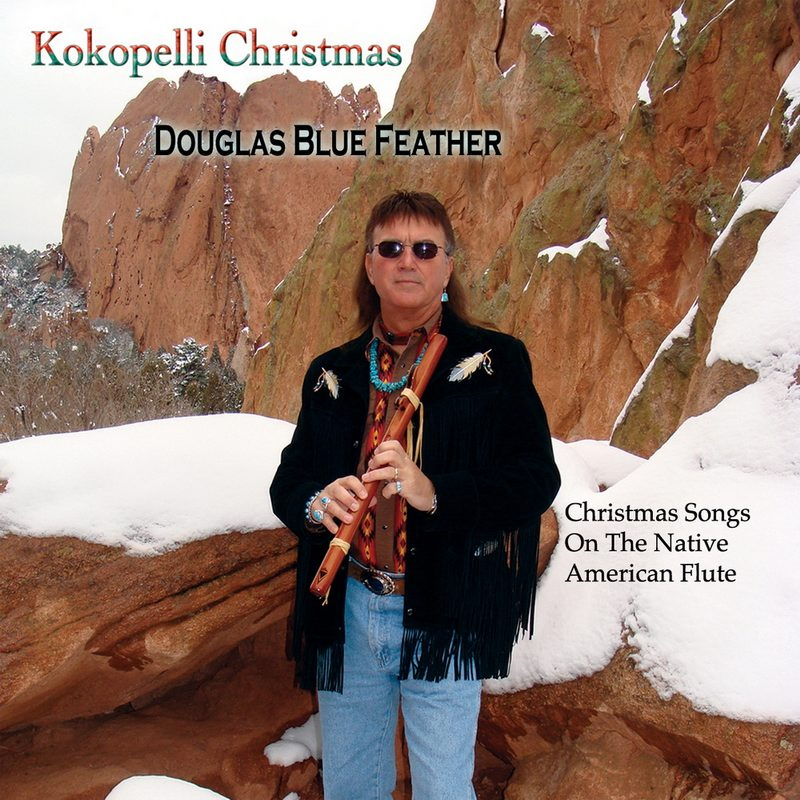 Kokopelli Christmas by Douglas Blue Feather